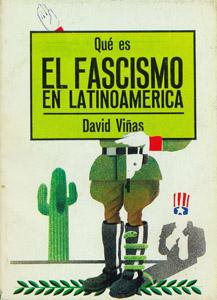 Cubierta de la obra : Qué es el fascismo en Latinoamerica