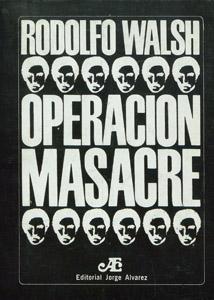 Front Cover : Operación masacre