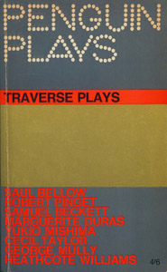 Front Cover : Traverse plays