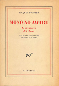 Front Cover : Mono no aware