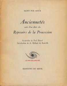 Front Cover : Anciennetés ; suivi d'un choix des Reposoirs de la Procession