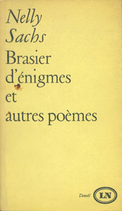 Front Cover : Brasier d'énigmes et autres poèmes