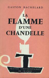 Front Cover : La flamme d'une chandelle