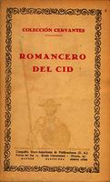 Romancero del Cid [1927]. Biblioteca