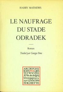 Front Cover : Le naufrage du Stade Odradek