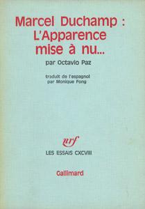 Cubierta de la obra : Marcel Duchamp