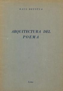 Front Cover : Arquitectura del poema