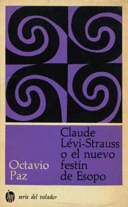 Cubierta de la obra : Claude Lévi-Strauss o El nuevo festín de Esopo