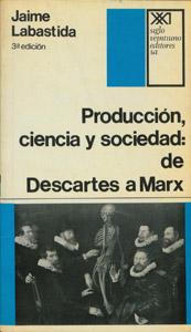 Cubierta de la obra : Producción, ciencia y sociedad