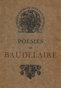 Front Cover : Poésies de Baudelaire