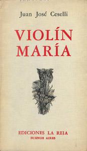Cubierta de la obra : Violín María