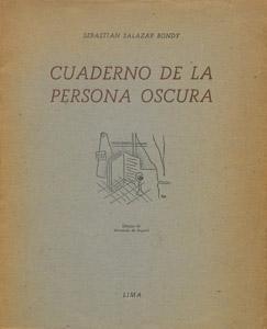 Front Cover : Cuaderno de la persona oscura