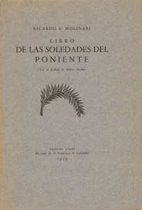 Front Cover : Libro de las soledades del poniente