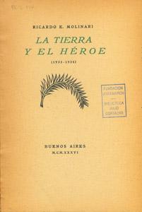 Front Cover : La tierra y el héroe (1933-1934)