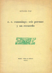 Front Cover : E. E. Cummings