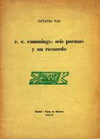E. E. Cummings seis poemas y un recuerdo [1966]. Biblioteca