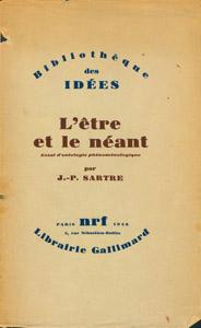 Front Cover : L' etre et le neant