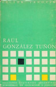 Front Cover : Raúl González Tuñón