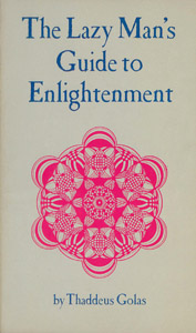 Front Cover : The lazy man's guide to enlightenment