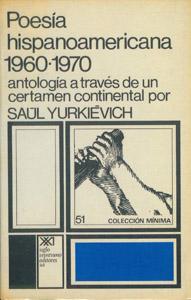 Front Cover : Poesía hispanoamericana, 1960-1970
