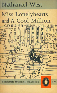 Front Cover : Miss Lonelyhearts and A cool million