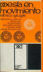 Front Cover : Poesía en movimiento