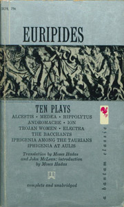 Front Cover : Ten plays