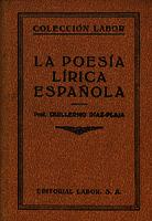 La poesía lírica española [1937]. Biblioteca