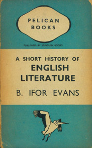 Front Cover : A short history of English literature