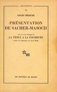Front Cover : Présentation de Sacher-Masoch