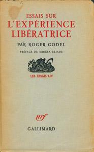 Front Cover : Essais sur l'experience liberatrice