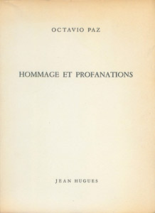 Front Cover : Hommage et profanations
