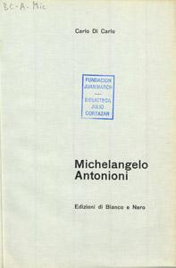 Front Cover : Michelangelo Antonioni