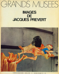 Front Cover : Images de Jacques Prevert