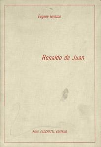 Front Cover : Ronaldo de Juan