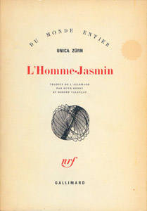 Cubierta de la obra : L' Homme-Jasmin