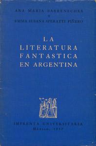 Front Cover : La literatura fantástica en Argentina