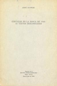 Front Cover : Cortázar en la década de 1940
