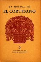La música en El Cortesano, de Baltasar Castiglione, y su traducción por Juan Boscán [1949]. Biblioteca
