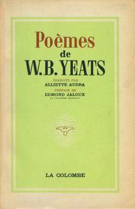 Front Cover : Poèmes de W. B. Yeats