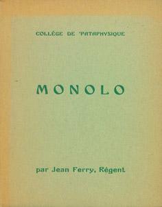 Front Cover : Monologue de l'employé