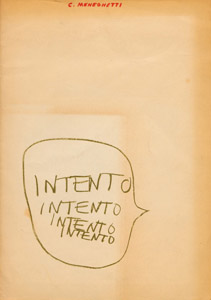 Front Cover : Intento