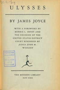 Front Cover : Ulysses