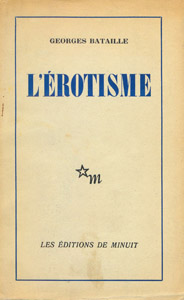 Front Cover : L' erotisme