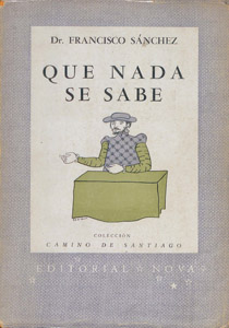 Front Cover : Que nada se sabe