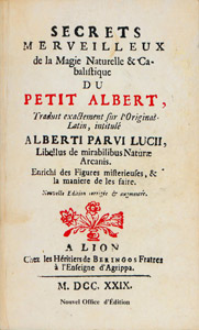 Front Cover : Les admirables secrets d'Albert le Grand