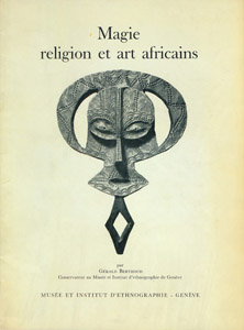 Front Cover : Magie, religion et art africains