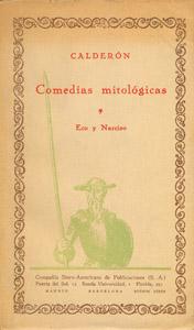 Front Cover : Comedias mitológicas