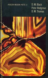 Front Cover : D. M. Black, Peter Redgrove, D. M. Thomas