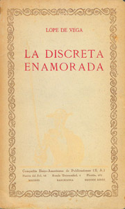 Front Cover : La discreta enamorada